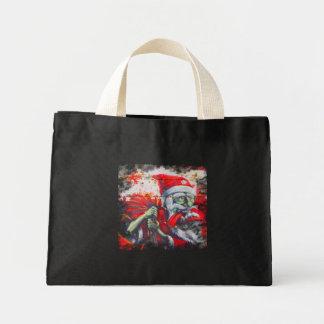 Crazy Santa Claus Mini Tote Bag