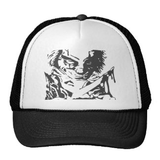 Crazy Scary Clown Trucker Hat