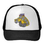 Crazy School Bus Mesh Hats