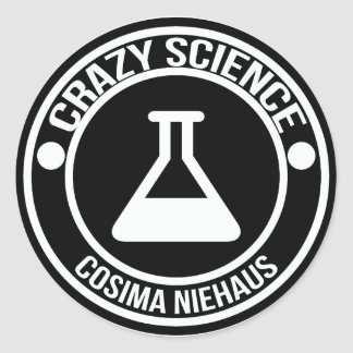 Crazy Science stickers