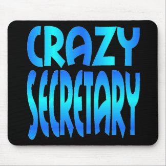 Crazy Secretary Mouse Pad