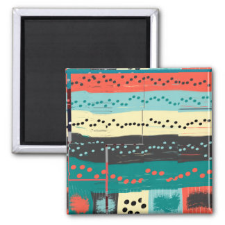 Crazy Sheet Music 2 Inch Square Magnet
