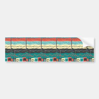 Crazy Sheet Music by Shirley Taylor Bumper Sticker