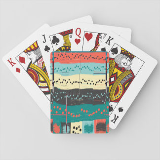 Crazy Sheet Music by Shirley Taylor Playing Cards