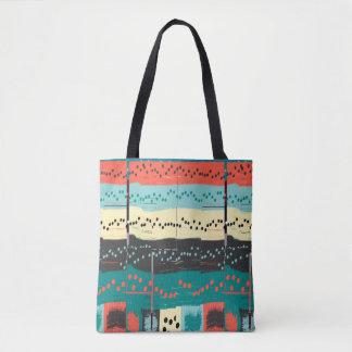 Crazy Sheet Music Tote Bag