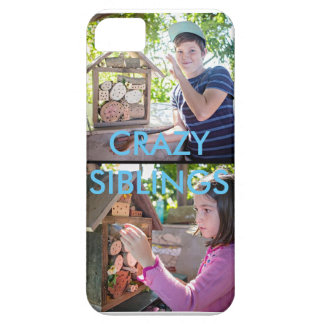 CRAZY SIBLINGS IPHONE 5/5s case