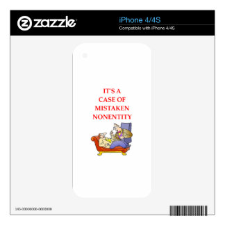 CRAZY SKIN FOR iPhone 4S