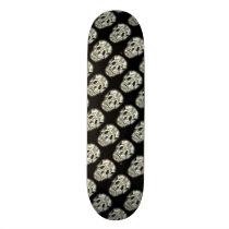 Crazy Skull pattern Skateboard