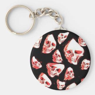 crazy skulls key chains