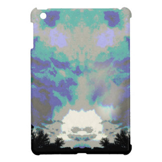 Crazy sky iPad mini cover
