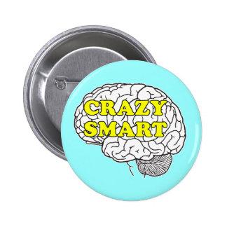 crazy smart 2 inch round button