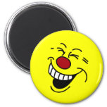 Crazy Smiley Face Grumpey Magnets