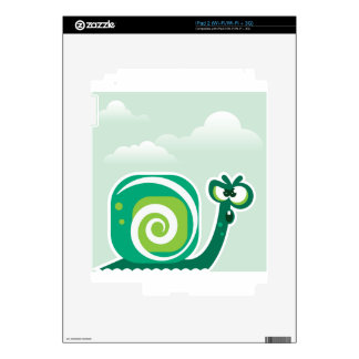 Crazy Snail iPad 2 Decals