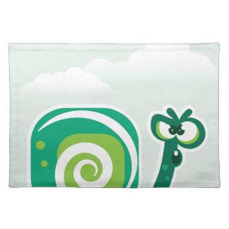 Crazy Snail Placemat