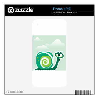 Crazy Snail Skins For The iPhone 4S