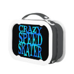 Crazy Speed Skater Lunchbox