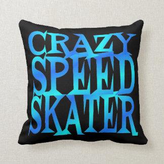 Crazy Speed Skater Pillows