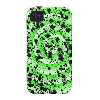 Crazy Splatter Design Vibe iPhone 4 Case