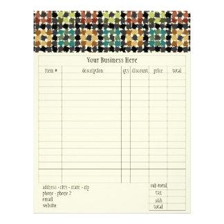 Crazy Squares Order Form Flyer