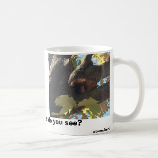 crazy squirrel, I like squirrels,Do you like sq... Classic White Coffee Mug