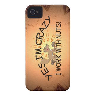 Crazy Squirrel iPhone Case