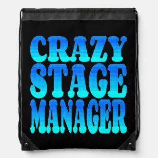 Crazy Stage Manager Drawstring Backpack