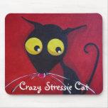 Crazy Stressie Cat Mouse Mats