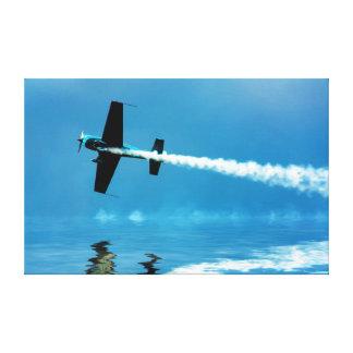 Crazy Stunt Pilot Canvas Prints