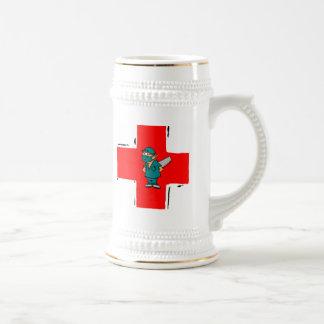 crazy surgeon coffee mug
