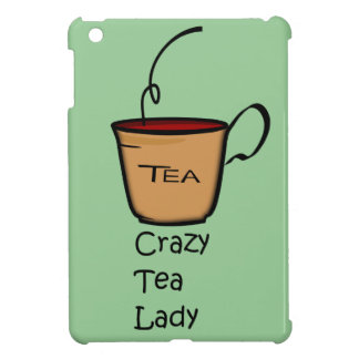 Crazy Tea Lady iPad Mini Cases