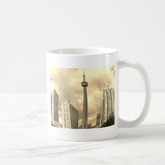 Crazy Toronto Skyline Coffee Mug