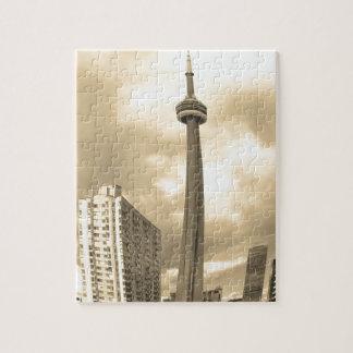 Crazy Toronto Skyline Jigsaw Puzzle