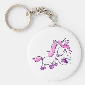 Crazy Tough Unicorn Pony Key chain