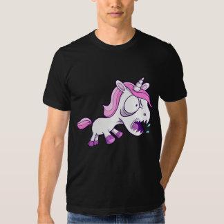 Crazy Tough Unicorn Pony T-Shirt