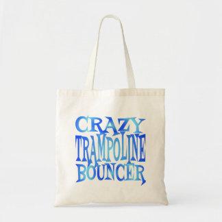 Crazy Trampoline Bouncer Tote Bag