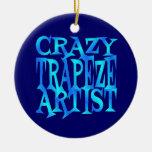 Crazy Trapeze Artist Christmas Tree Ornament