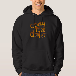 Crazy Tree Climber in Gold Hoodie