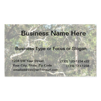 crazy tree limbs nature photo image Double-Sided standard business cards (Pack of 100)