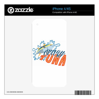 Crazy Tuna! Skin For iPhone 4S