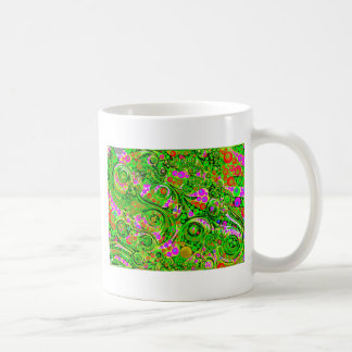 Crazy Twisted Abstract Art Decor Classic White Coffee Mug