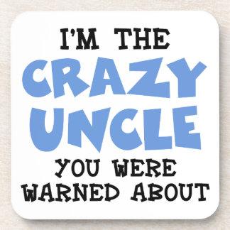 Crazy Uncle Drink Coaster