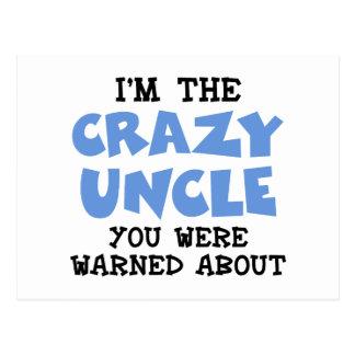 Crazy Uncle Postcard