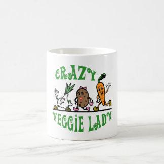 CRAZY VEGGIE LADY COFFEE MUG