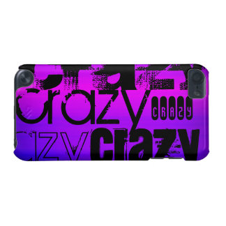 Crazy; Vibrant Violet Blue and Magenta iPod Touch (5th Generation) Case