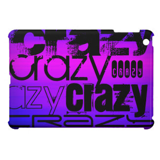 Crazy; Vibrant Violet Blue and Magenta iPad Mini Case