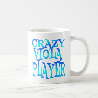 Crazy Viola Player Mugs