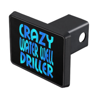 Crazy Water Well Driller Tow Hitch Cover