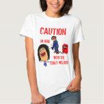 Crazy Welder Spouse T Shirt