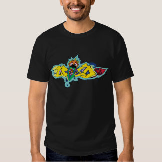 Crazy Wild Graffiti Character T-Shirt