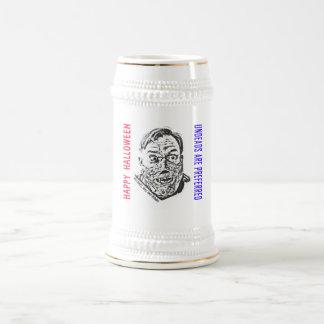 Crazy Zombie - Halloween Beer Stein